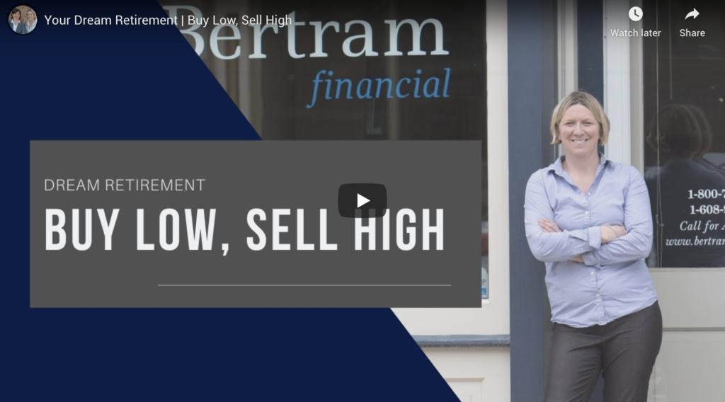 buy low sell high - michelle bertram