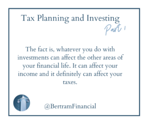 Quote About Tax Planning - Bertram Financial