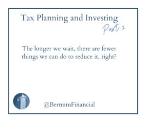 Tax Planning Quote - Bertram Financial