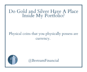 quote about coins - bertram financial