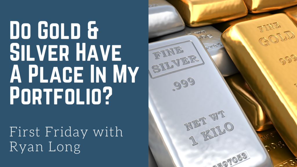 Picture of Gold and Silver Bars - Bertram Financial