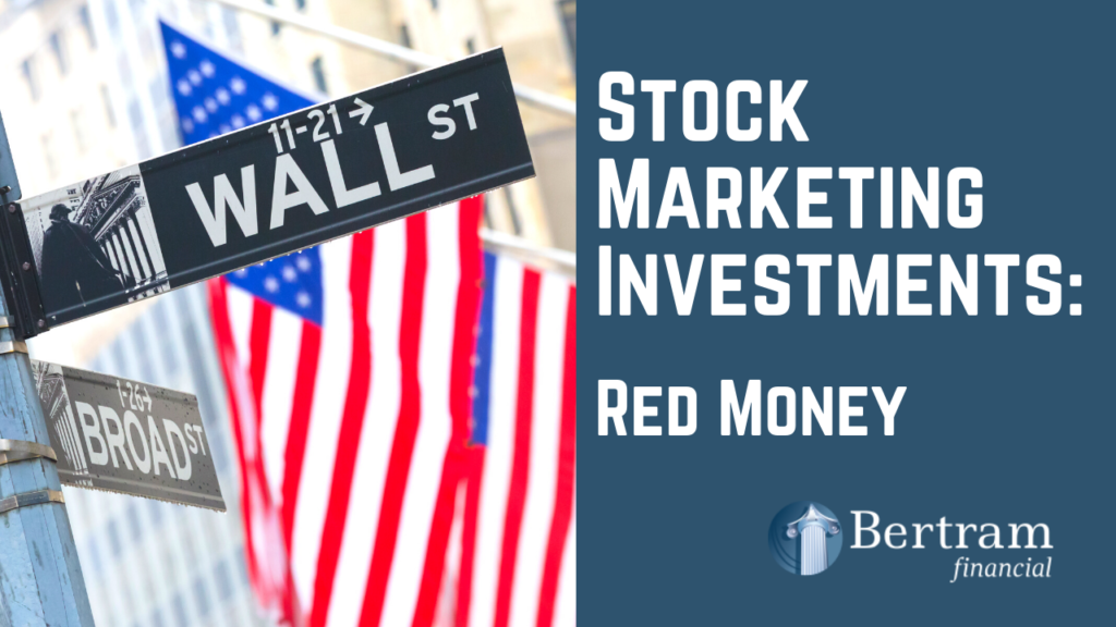 Picture of Wall Street and the American Flag - Investments - Bertram Financial