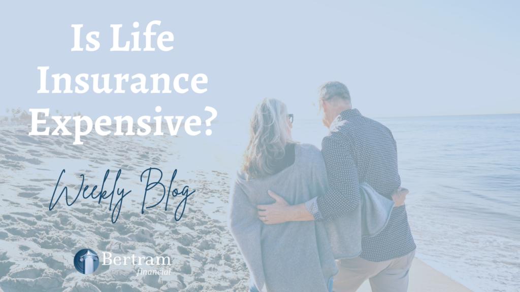 senior old couple on the beach - life insurance - bertram financial